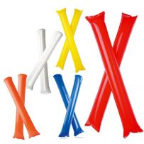 Pack of Ten Inflatable Cheering Sticks